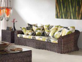 Quatre endroits de la maison pour mettre les meubles en osier ecofia le site de toutes vos - Salon osier ...